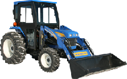 New Holland Cab and Enclosure - T1530