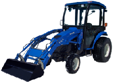 New Holland Cab and Enclosure - Boomer 3040 Gear, Boomer 3045 Gear, T2310 Gear, T2...